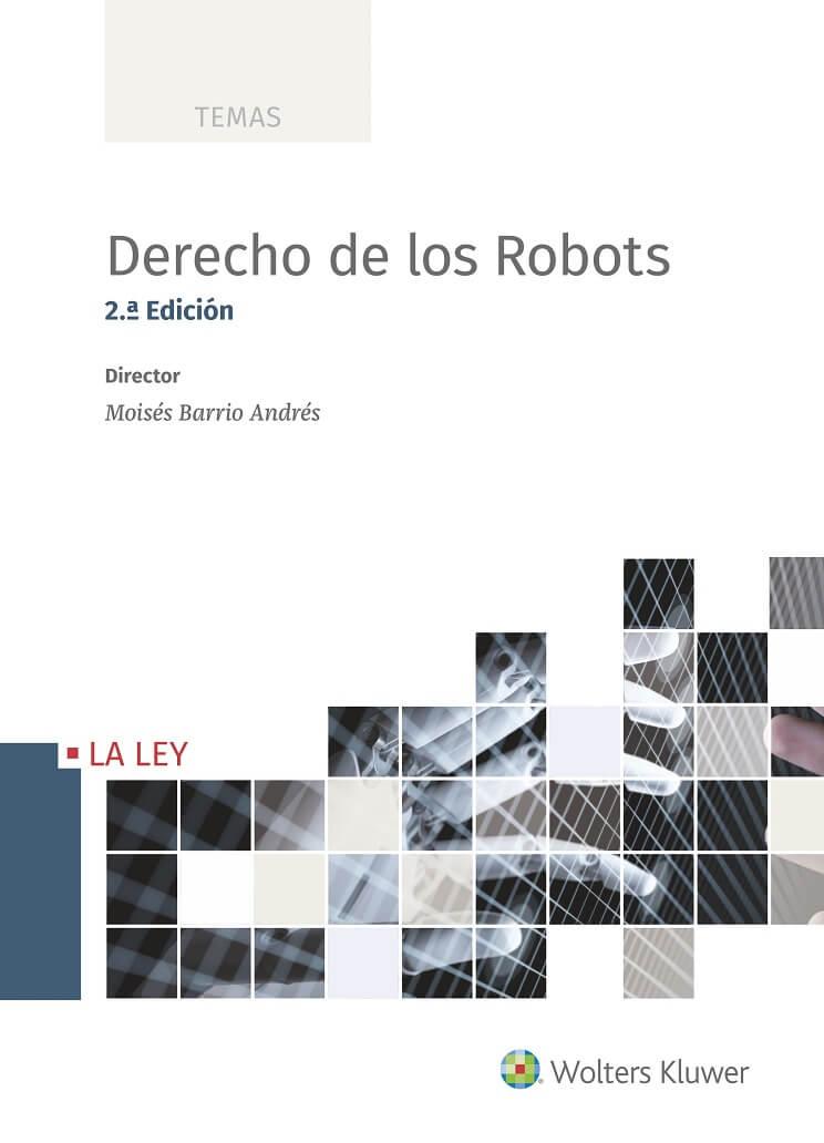 portada libro Derecho de los Robots 2ª edición de Moisés Barrio