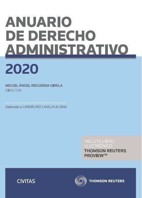 Anuario de Derecho Administrativo 2020