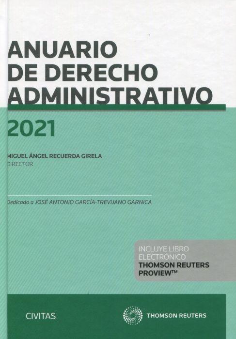 Anuario de Derecho Administrativo 2021
